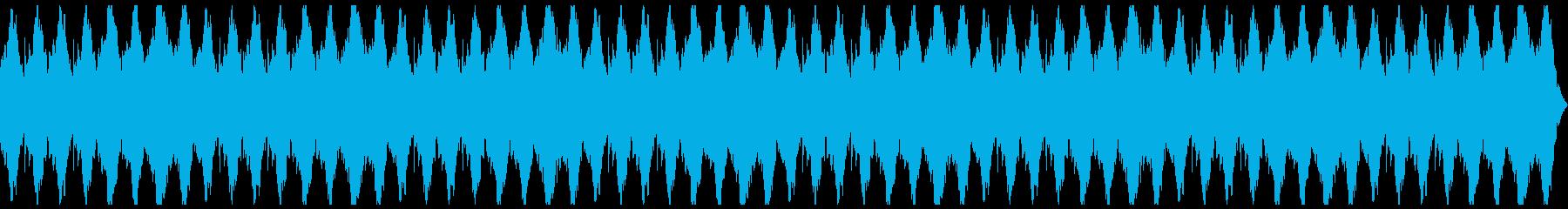 不気味ホラー 不協和音シンセバイオリンの再生済みの波形