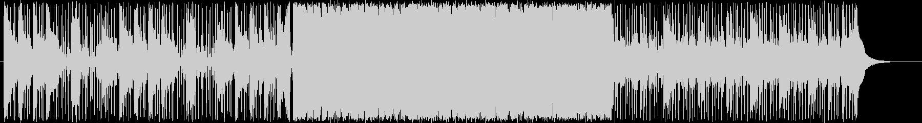 アジアン風ドラムンベースの未再生の波形
