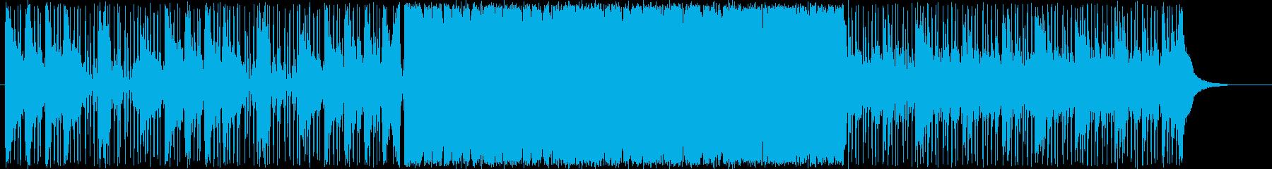 アジアン風ドラムンベースの再生済みの波形