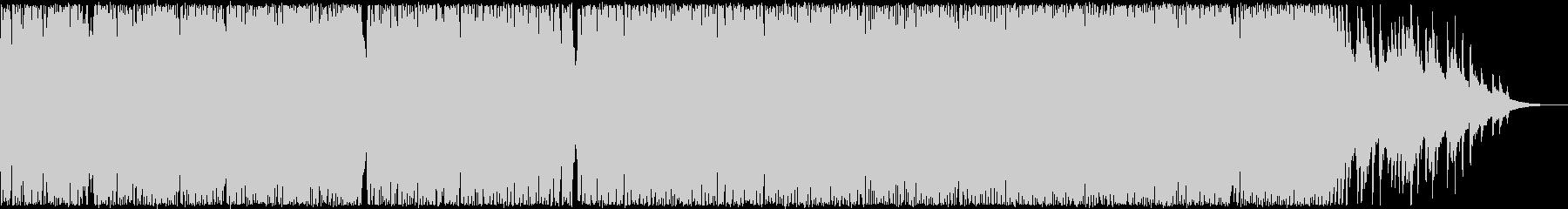 軽快で切ないハウスアレンジ・クリスマス曲の未再生の波形