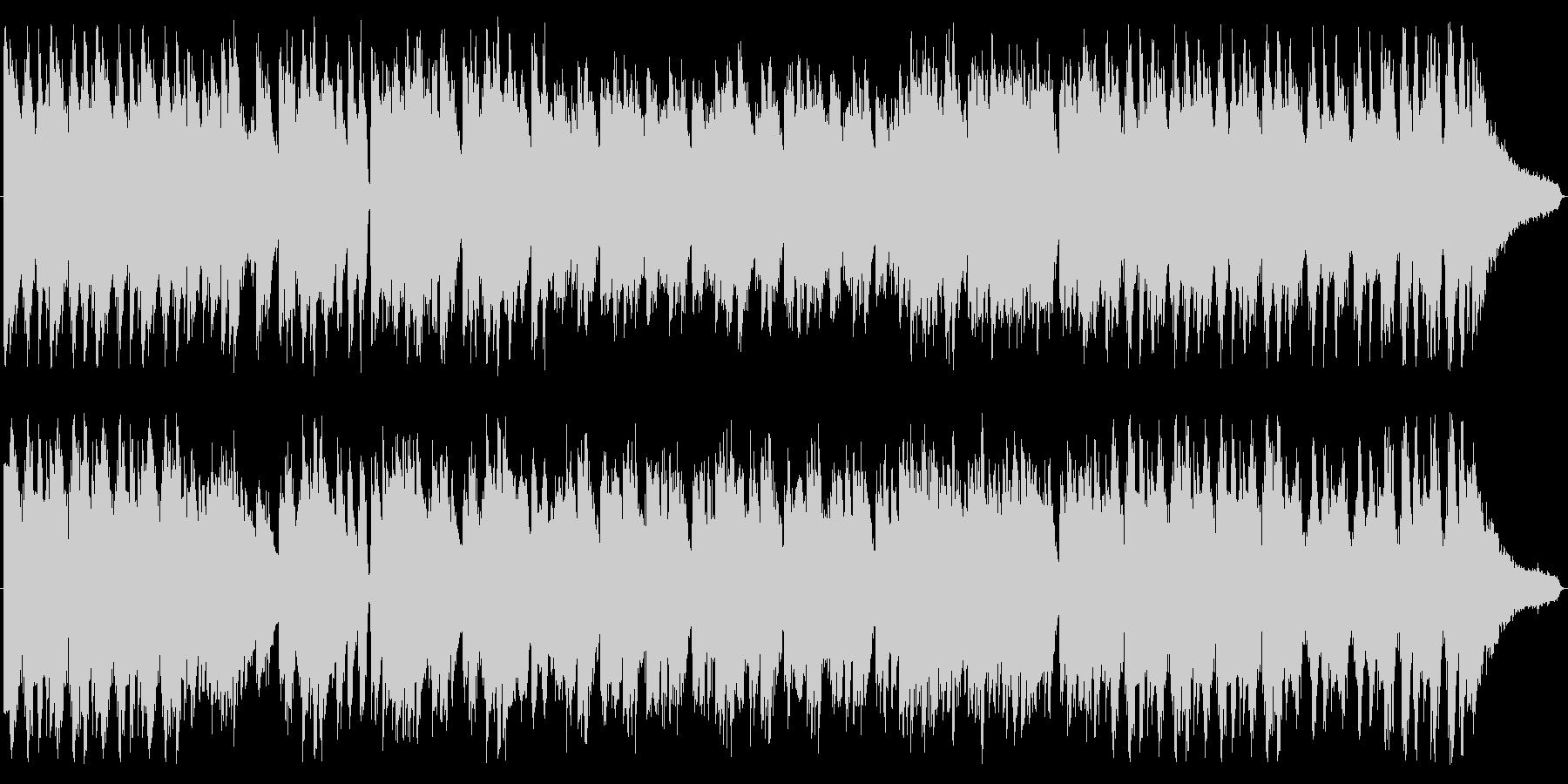 悲しみ溢れるスタイリッシュダークピアノの未再生の波形