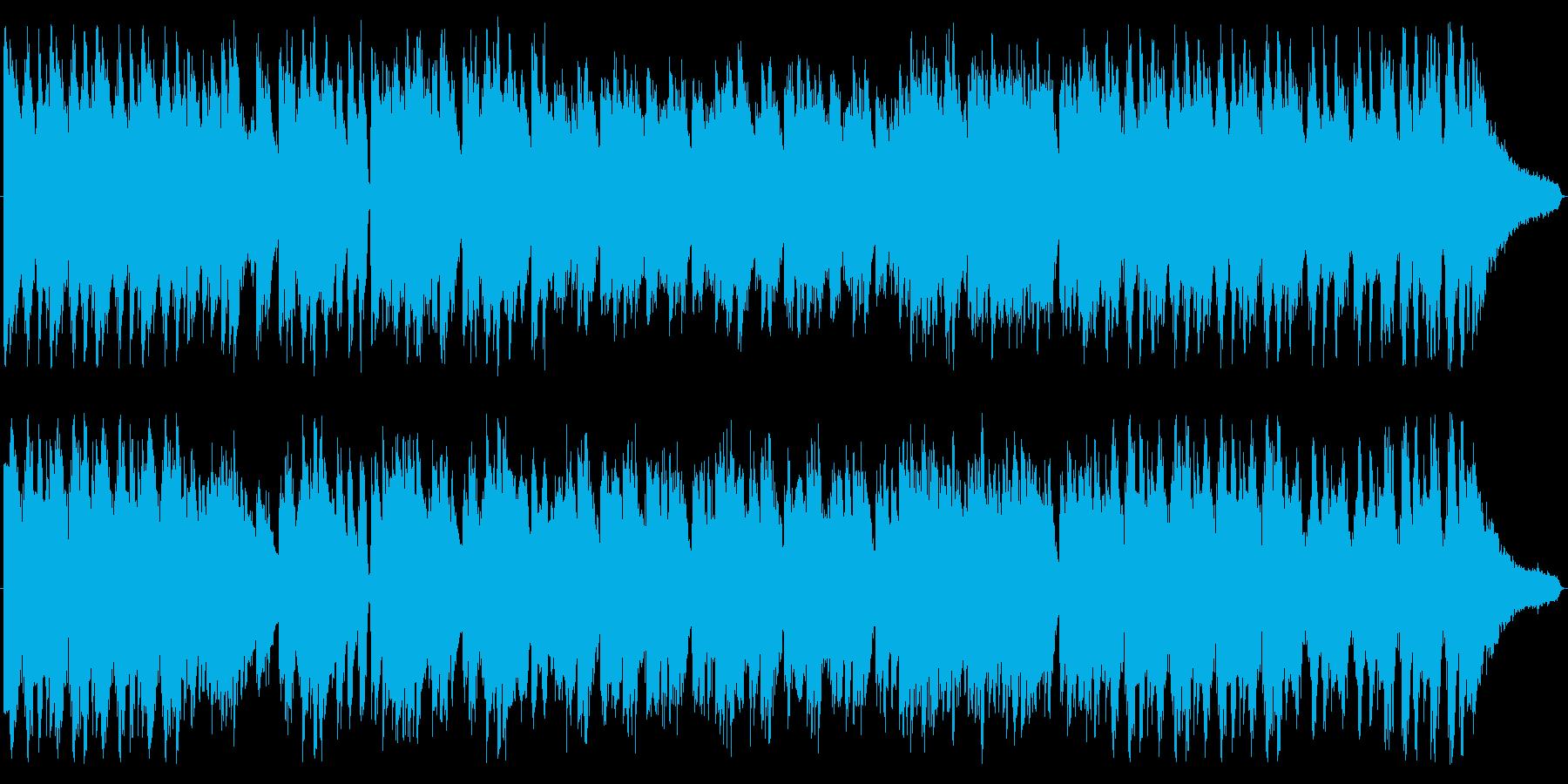 悲しみ溢れるスタイリッシュダークピアノの再生済みの波形