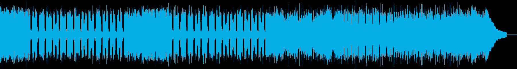 カントリー風ロックギター01Aの再生済みの波形