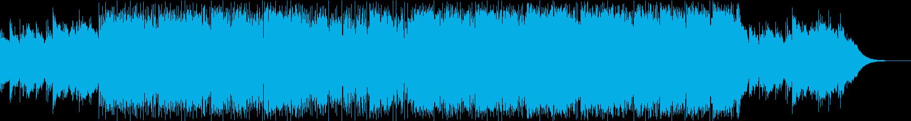クールなDrum'NBassショートの再生済みの波形