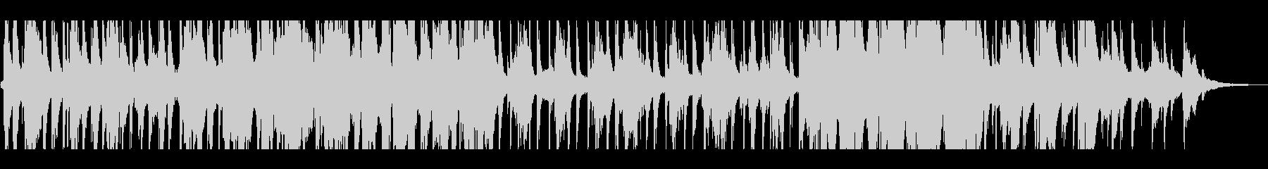 ロマンティックなサックスのバラードの未再生の波形