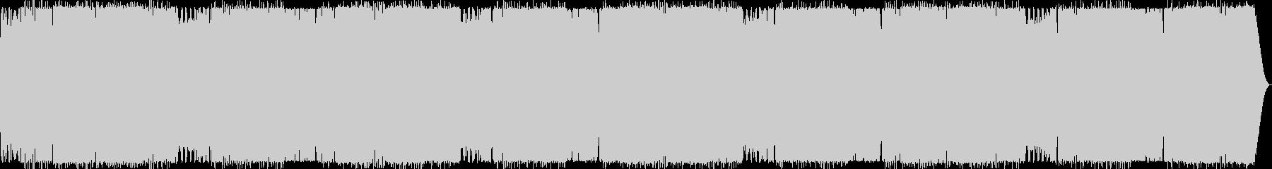 BPM150:ワークアウト15分の未再生の波形
