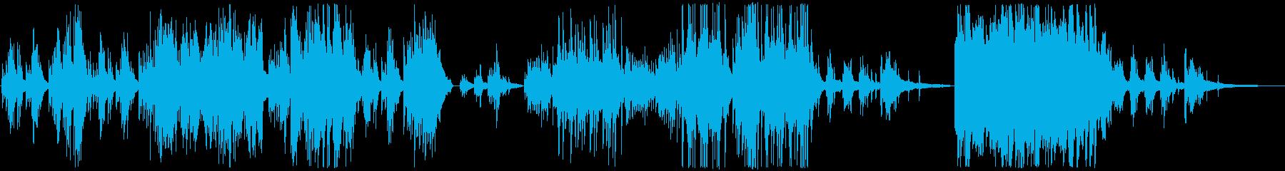 ピアノソロ作品です。の再生済みの波形