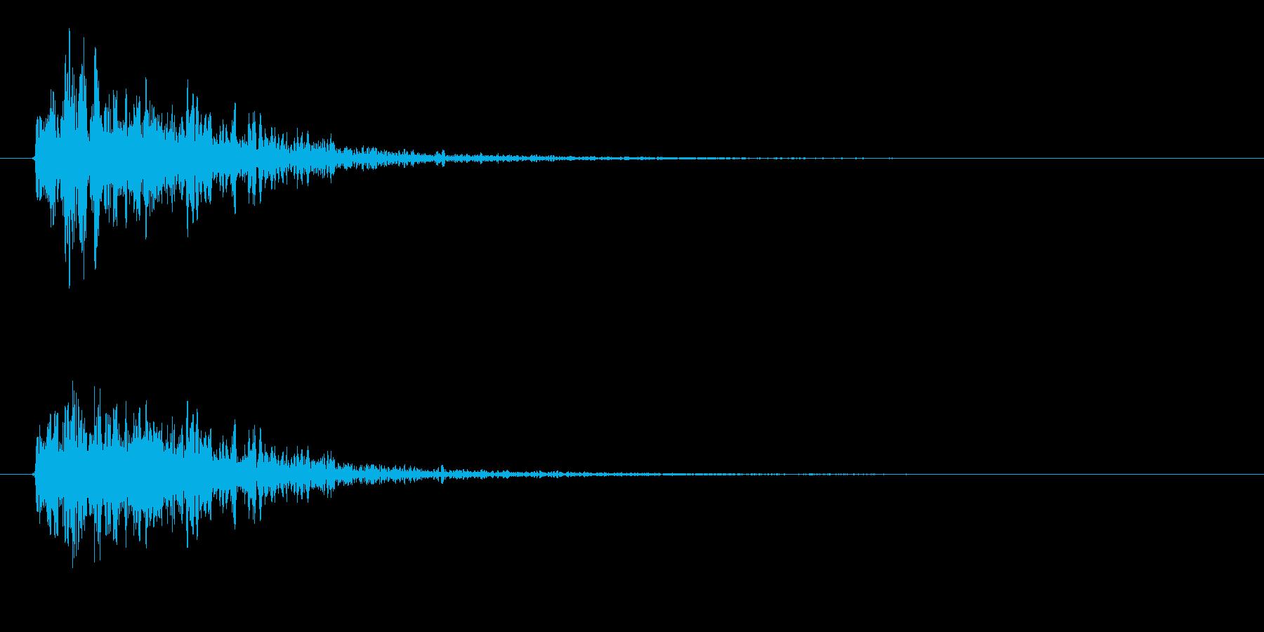 「ビコーン(弓矢の音)」の再生済みの波形