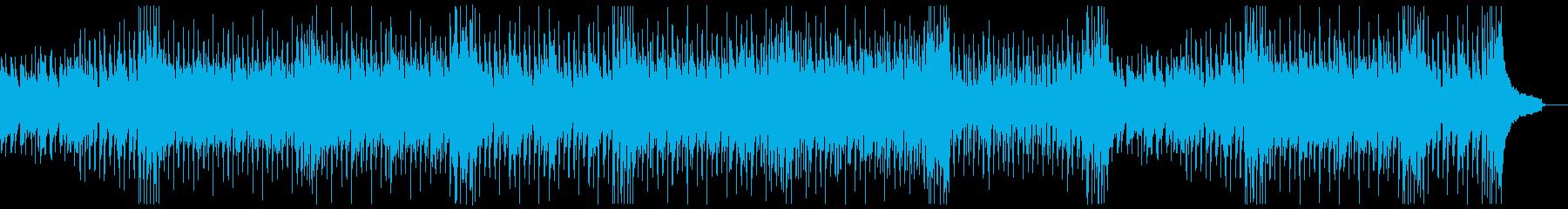 ファンキーイベントオープニング:打楽器抜の再生済みの波形