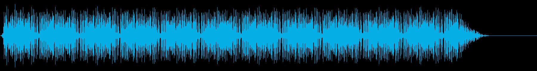 パチンコ リーチ音(ノーマル)レトロ 2の再生済みの波形