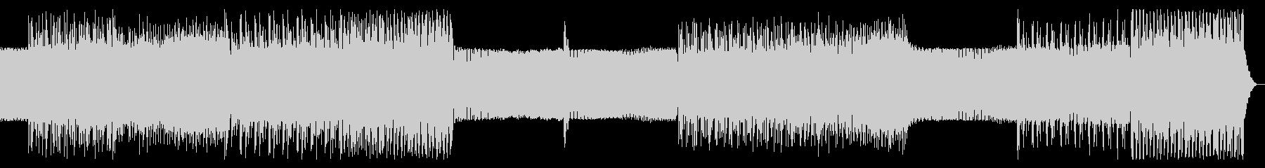 シンプルなアルペジオのテクノ11の未再生の波形