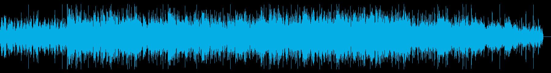 奇妙に揺らめくテクスチャIDMの再生済みの波形