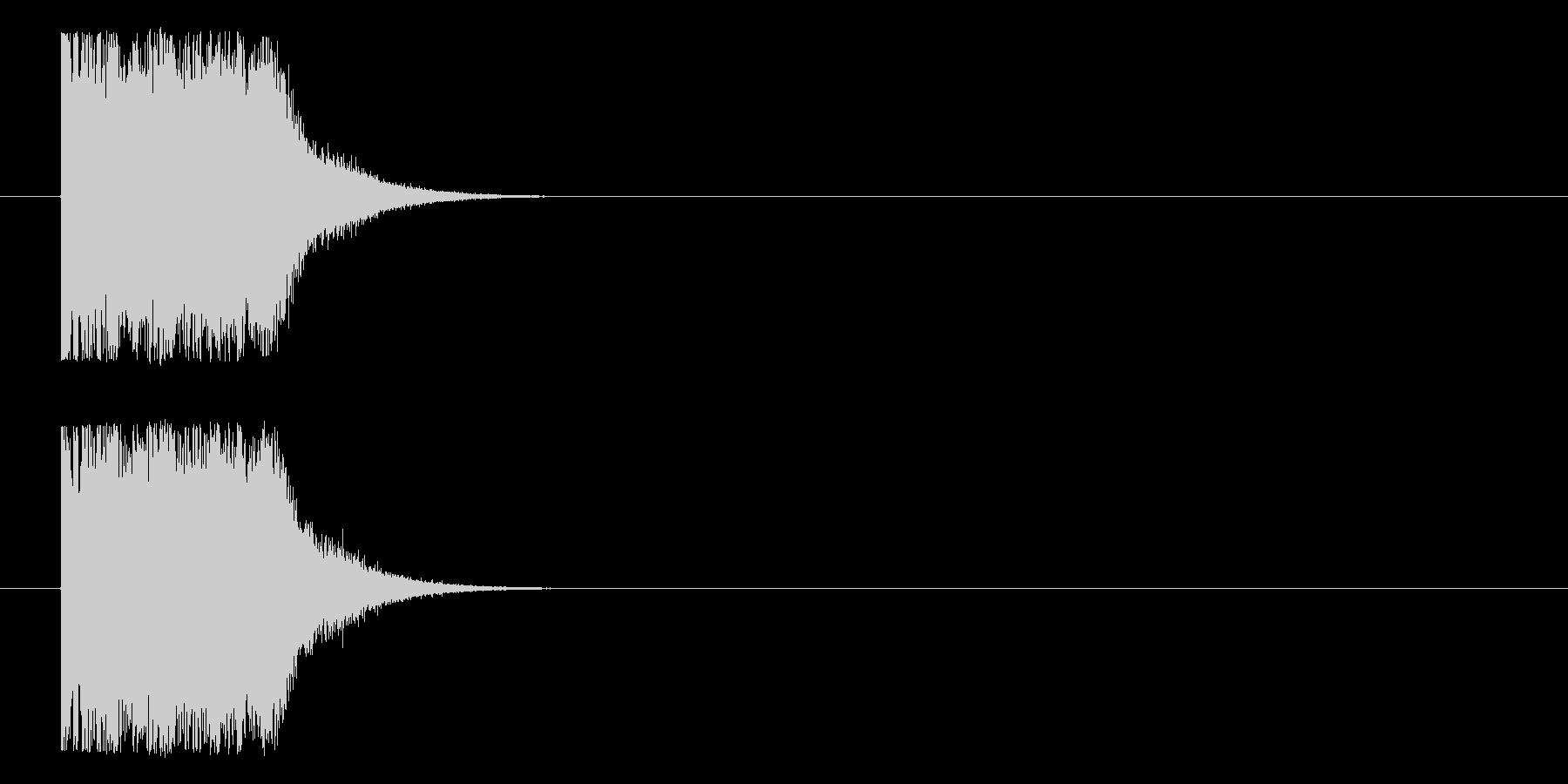 ダジューンという不思議なロゴの未再生の波形