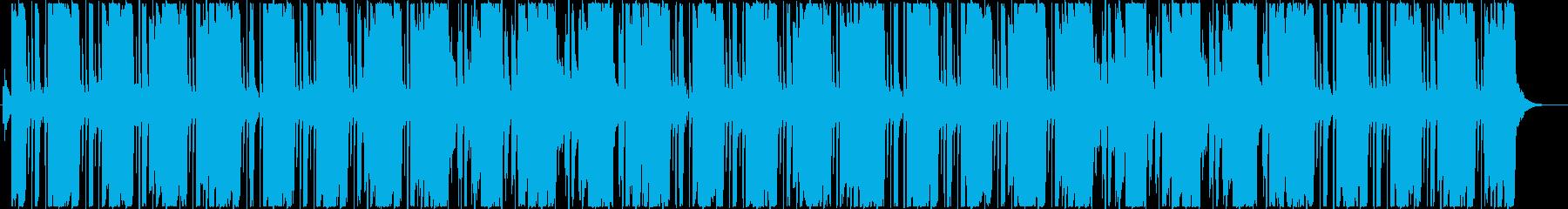 ニュースをイメージしたエレクトロニカ の再生済みの波形