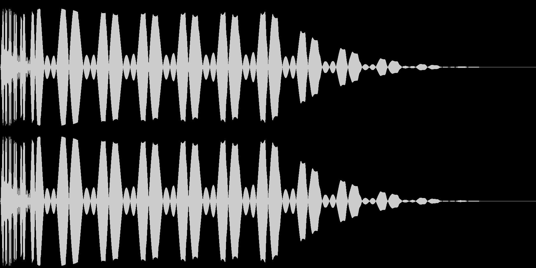 キック/ドラム/デジタル/Key-Aの未再生の波形