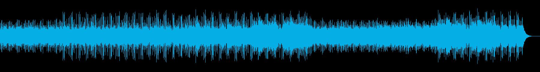 民族楽器を使ったほのぼのした曲の再生済みの波形