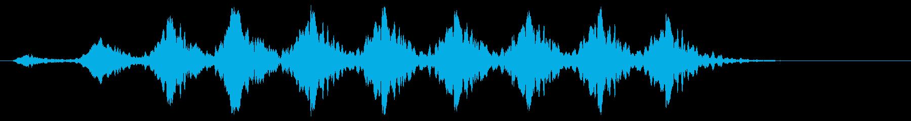 こおろぎの鳴き声_その2の再生済みの波形