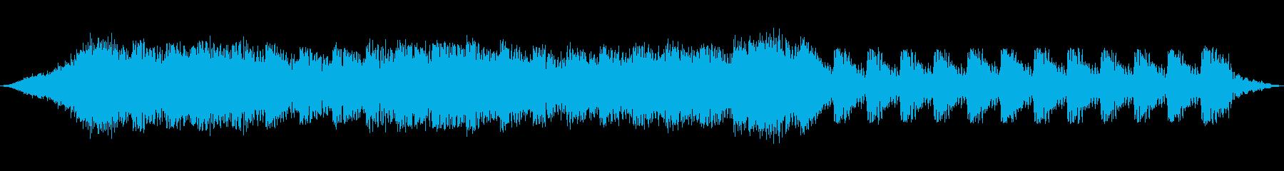 黒魔術の再生済みの波形