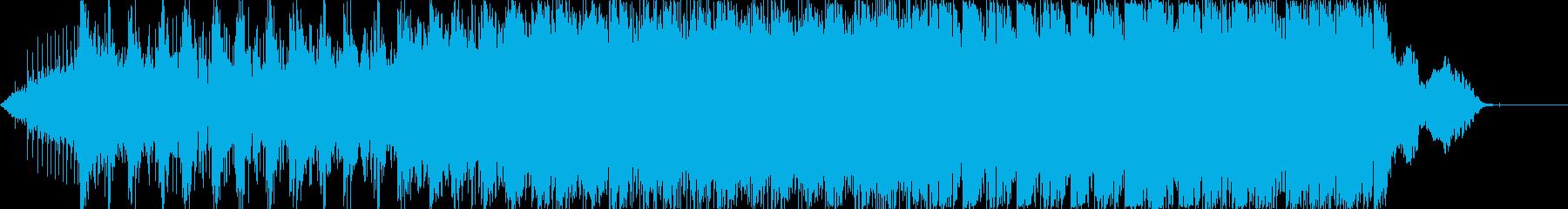 【殺陣音楽】迫力のある時代劇の戦闘シーンの再生済みの波形