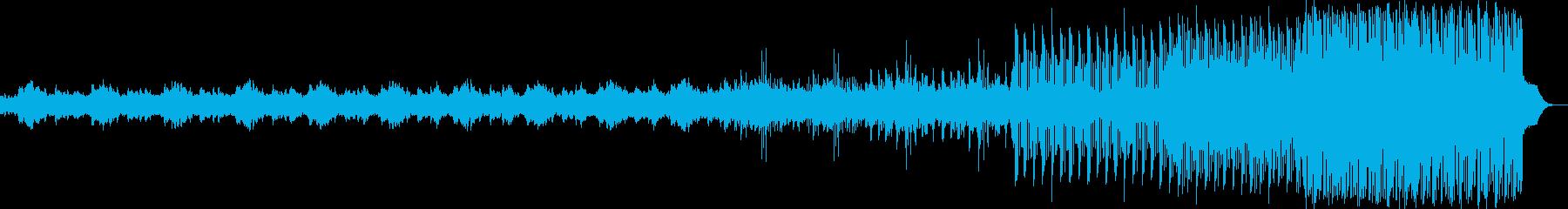前向きな気持ちになるピアノエレクトロニカの再生済みの波形