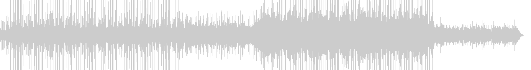 AppleのCMに使われていそうな曲の未再生の波形