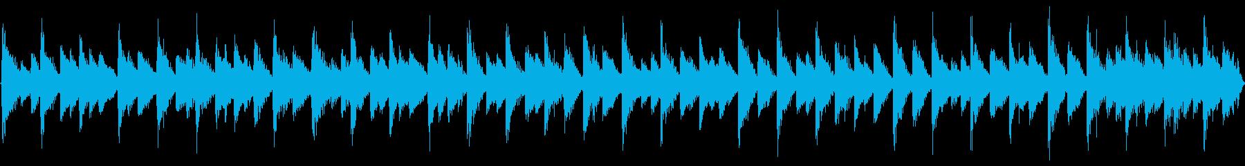 チップチューンによるパッヘルベルのカノンの再生済みの波形