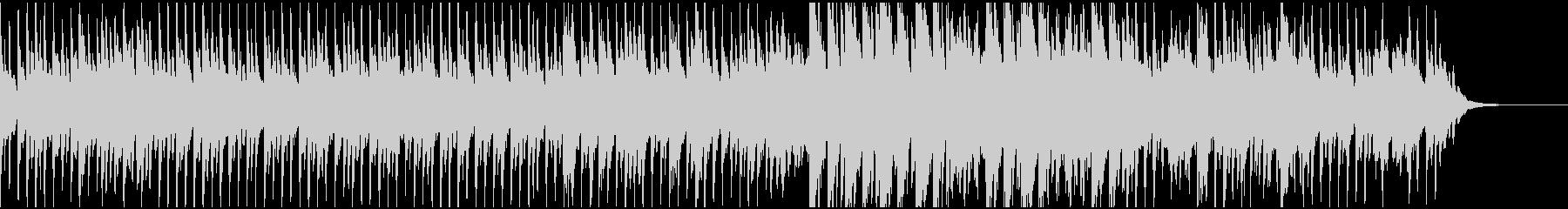 感動的なピアノ、ストリングス(テクノ)の未再生の波形