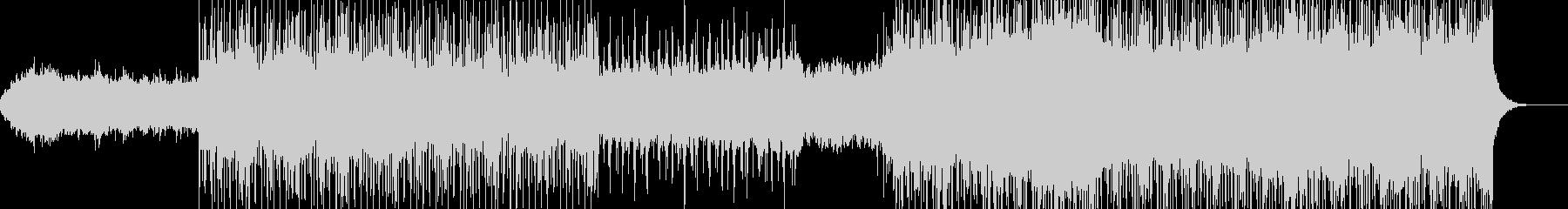 フューチャーアンビエントBGMの未再生の波形