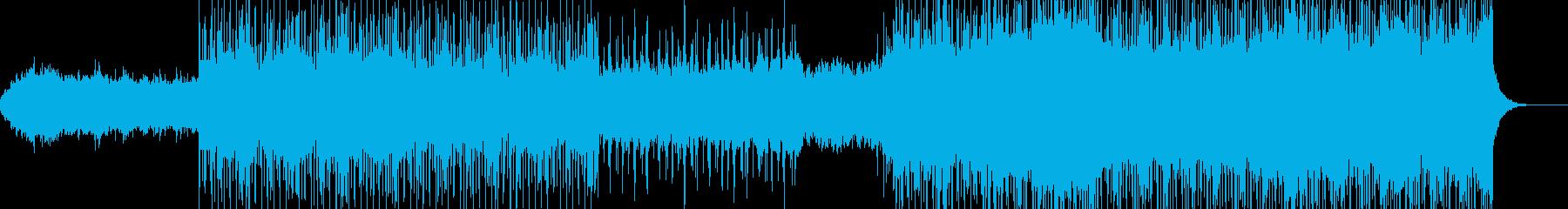 フューチャーアンビエントBGMの再生済みの波形