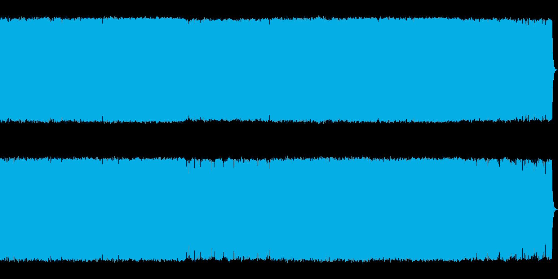 緊迫感のあるギターメタルボス系の曲【R…の再生済みの波形