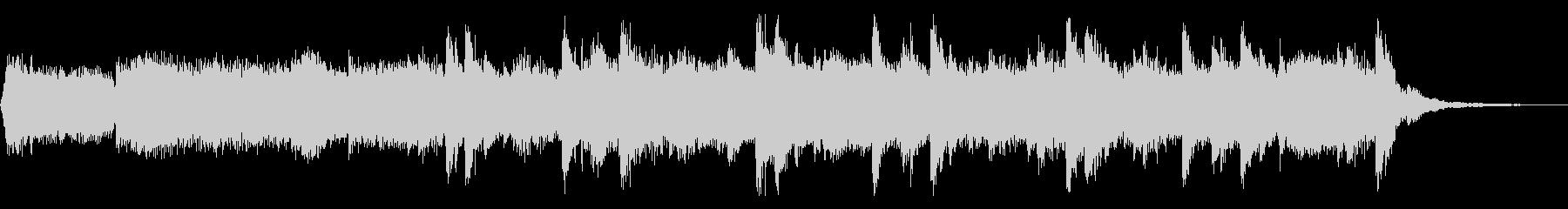 メローなエレクトロニカの未再生の波形