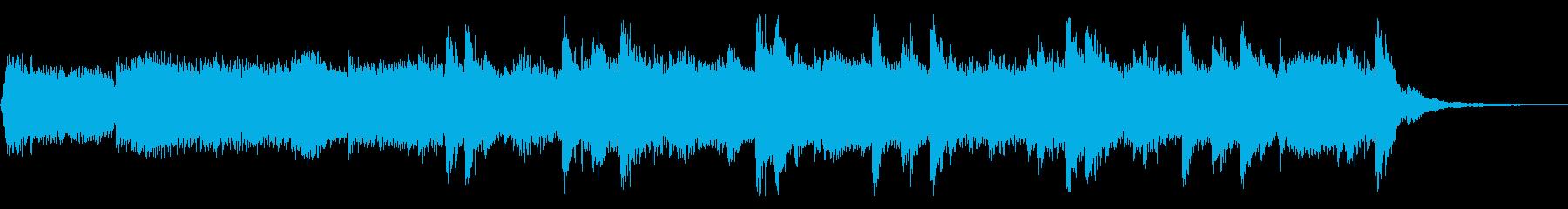 メローなエレクトロニカの再生済みの波形