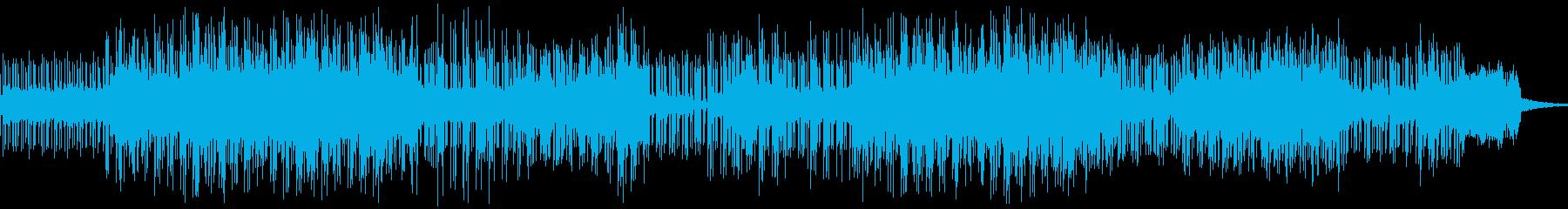 ダークでシリアスなメロディーの再生済みの波形