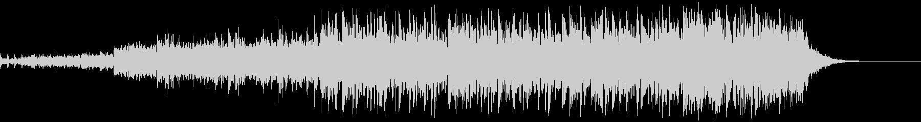 スリックオルタナティブロックテーマの未再生の波形