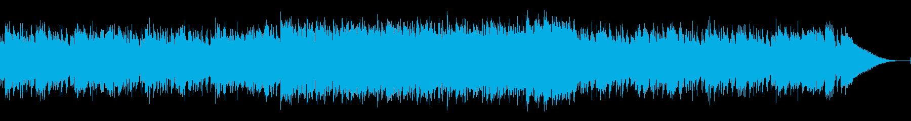 エスニックで情熱的なCM映像用のディスコの再生済みの波形