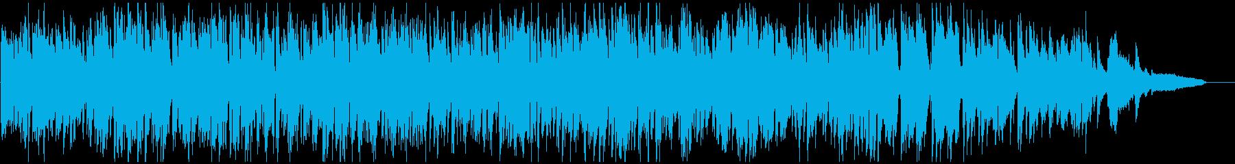 明るいジャズ・バラエティ、素敵なサックスの再生済みの波形