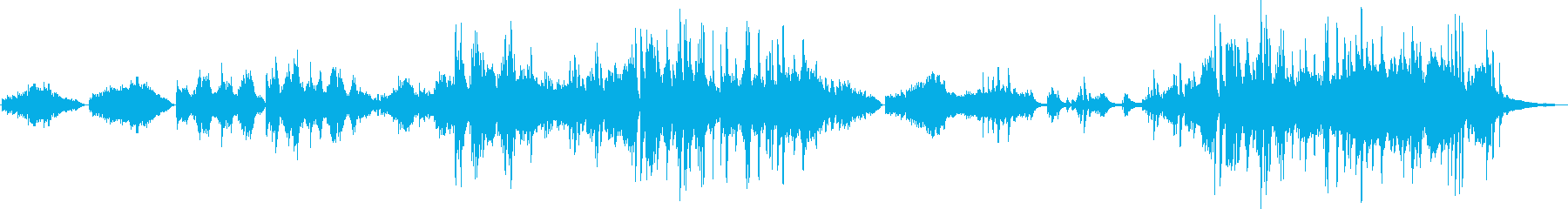 爽やかで感動的なヒーリングピアノソロの再生済みの波形