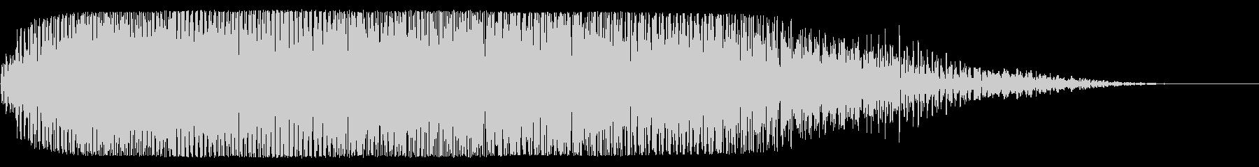 宇宙船通過(神秘的または幻想的な音)の未再生の波形