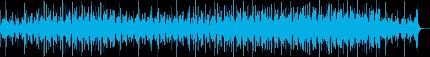 ポップ テクノ ラウンジ まったり...の再生済みの波形