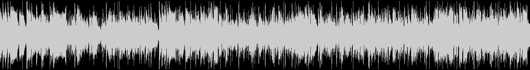 超かっこいい高速ジャズ ※ループ仕様版の未再生の波形