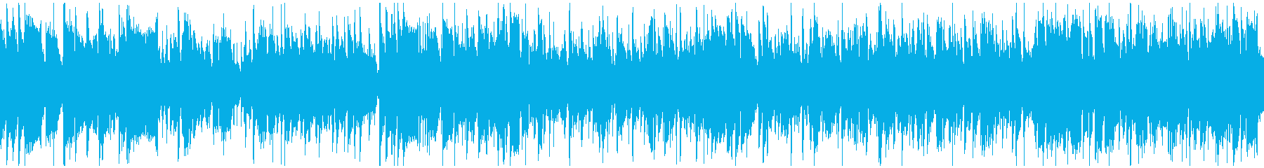 超かっこいい高速ジャズ ※ループ仕様版の再生済みの波形