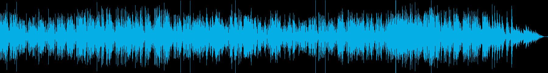 『ジングルベル』のジャズボッサアレンジの再生済みの波形