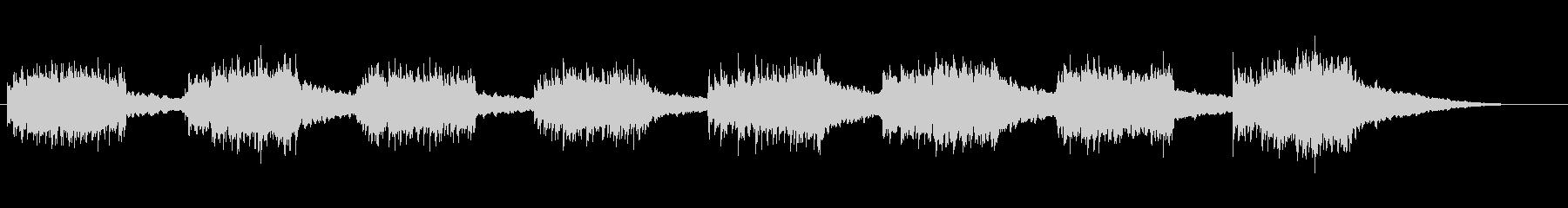 KANTアラームベルサウンド285の未再生の波形