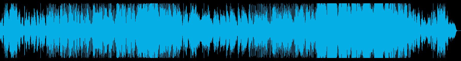 ハープとフルートが印象的な桜の歌の再生済みの波形