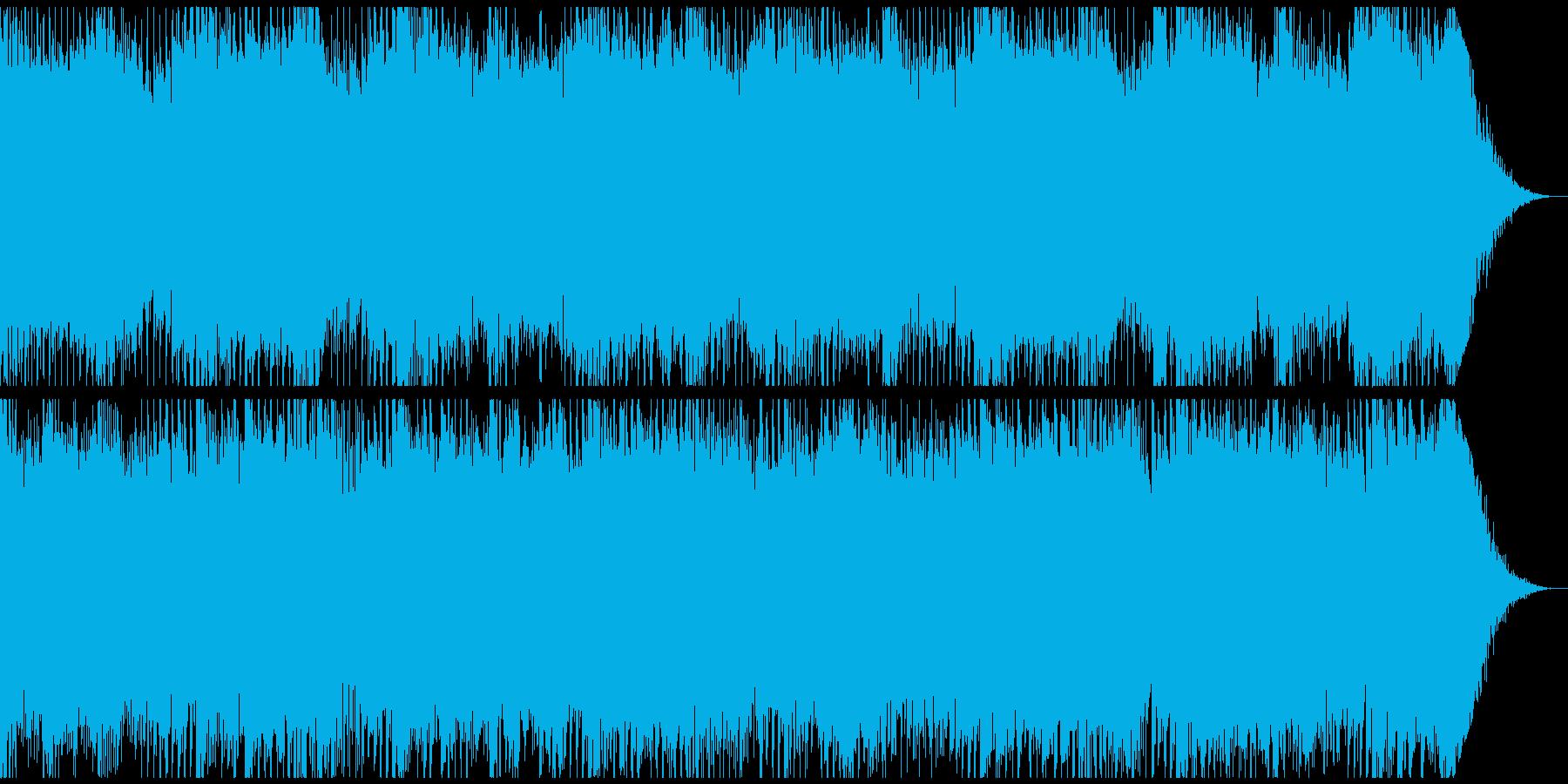 高まる緊張感と決意を表すテクノサウンド。の再生済みの波形