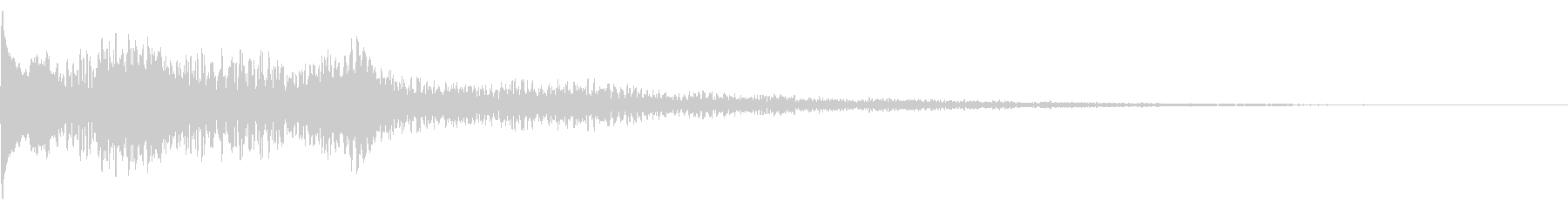 ハンドパン・タップ・お知らせ・通知14の未再生の波形