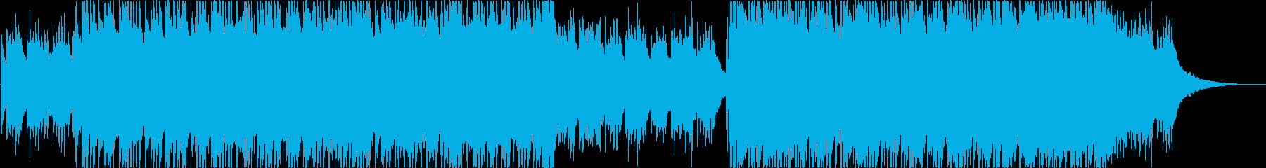 爽やかな洋楽風カントリーインディーポップの再生済みの波形