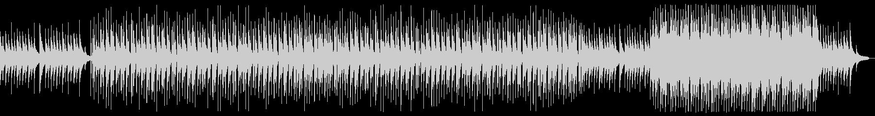 ピアノメインのエモーショナルポップロックの未再生の波形