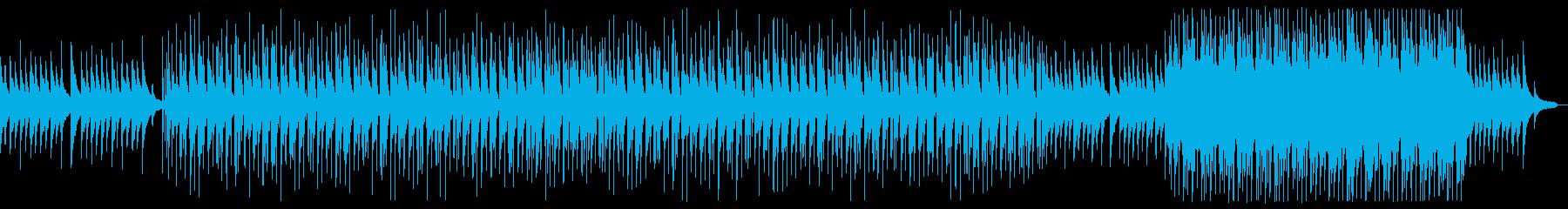 ピアノメインのエモーショナルポップロックの再生済みの波形