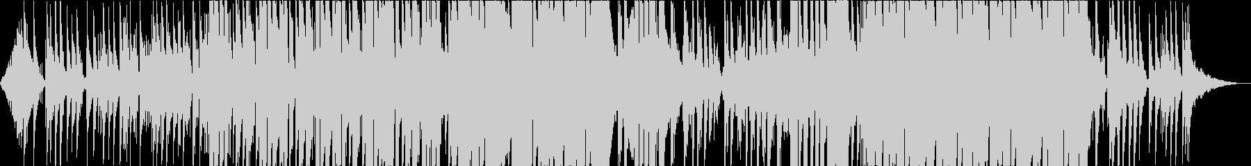 【トロピカルハウス】さわやかなEDMの未再生の波形